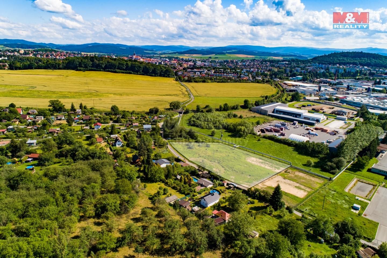 Prodej, pozemek 5653m2, provozní plocha, Klatovy