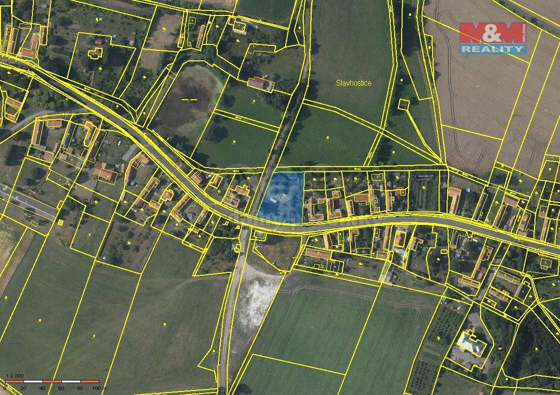 Prodej pozemku k bydlení, 2195 m², Slavhostice