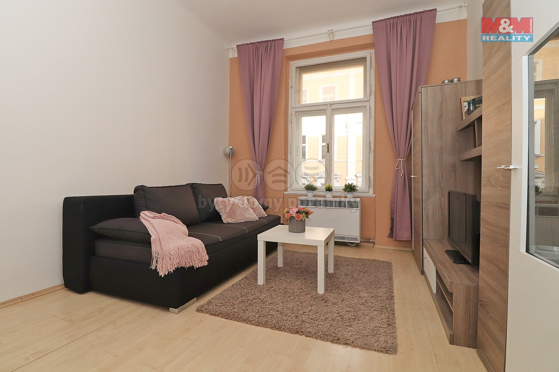 Pronájem bytu 1+kk, 26 m², Praha, ul. Na Kozačce