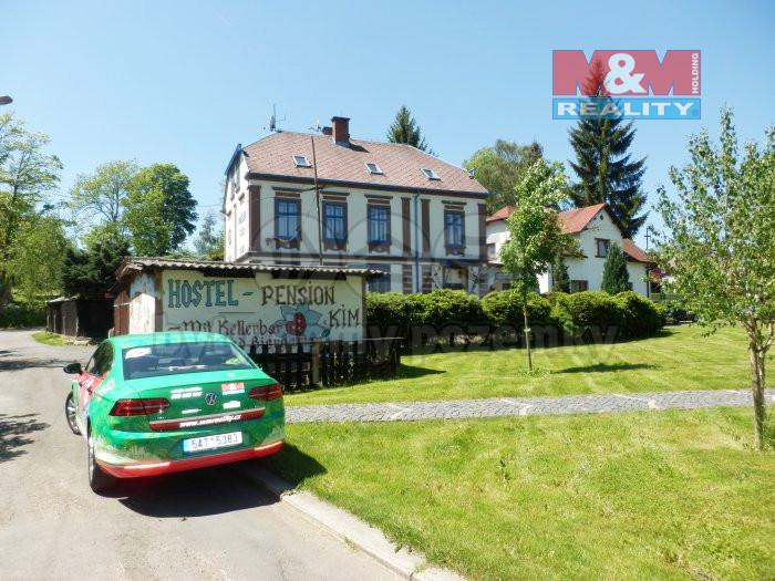 Prodej hotelu, penzionu, 500 m², Hranice, ul. Husovo náměstí