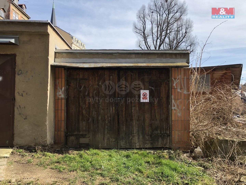 Prodej, garáž, 27 m2, Liberec II - Nové Město, Rámový vršek