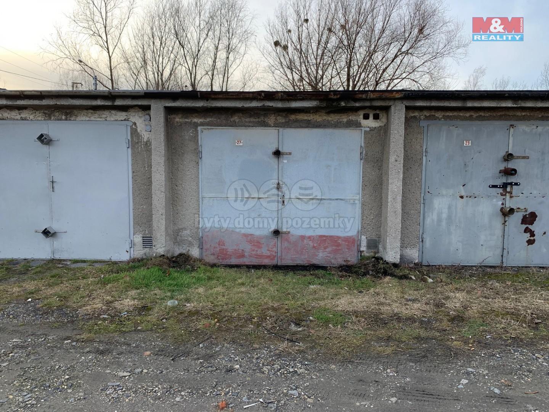 Prodej garáže, 23 m², Ostrava, ul. Komerční