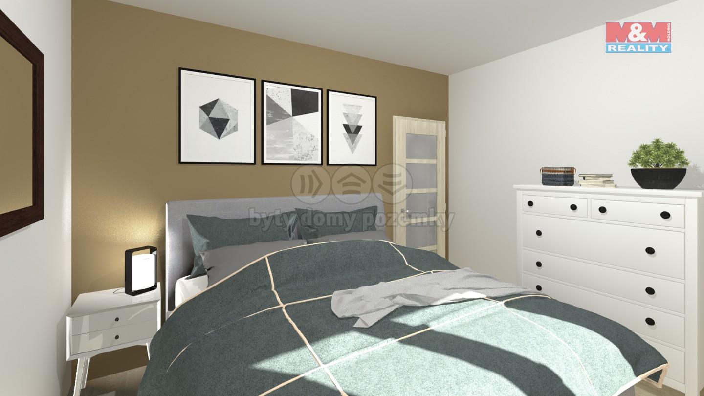 Vizualizace-ložnice
