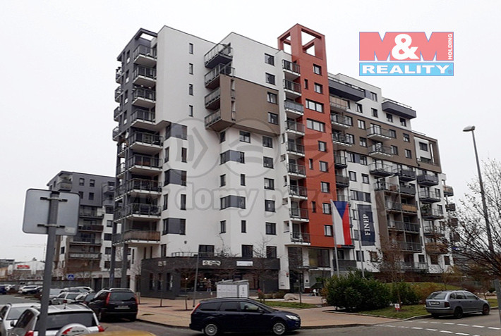 Pronájem bytu 1+kk, 35 m², Praha 9 - Vysočany