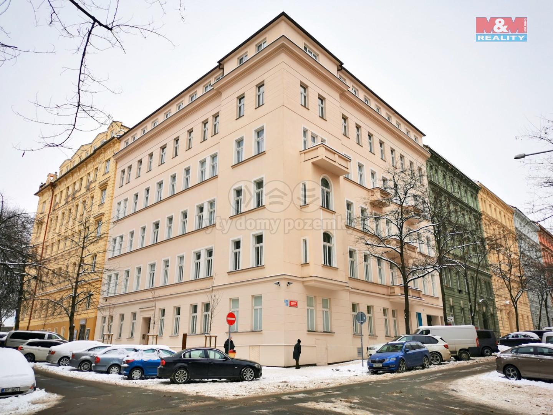 Pronájem bytu 3+kk, 78 m², Praha 2 - Vinohrady, ul. Blanická
