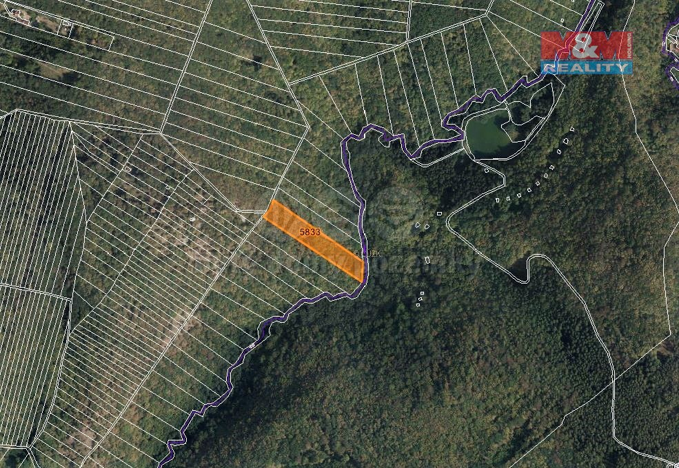 Prodej lesa, 7566 m², Brno-Líšeň