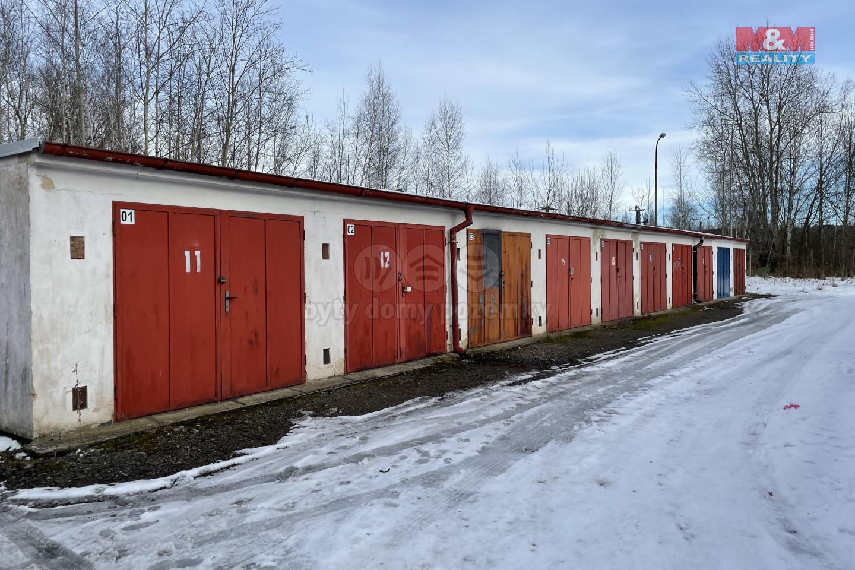 Prodej garáže, 18 m², České Budějovice, ul. Okružní
