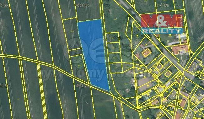 Prodej pole, 4186 m², Liběšice