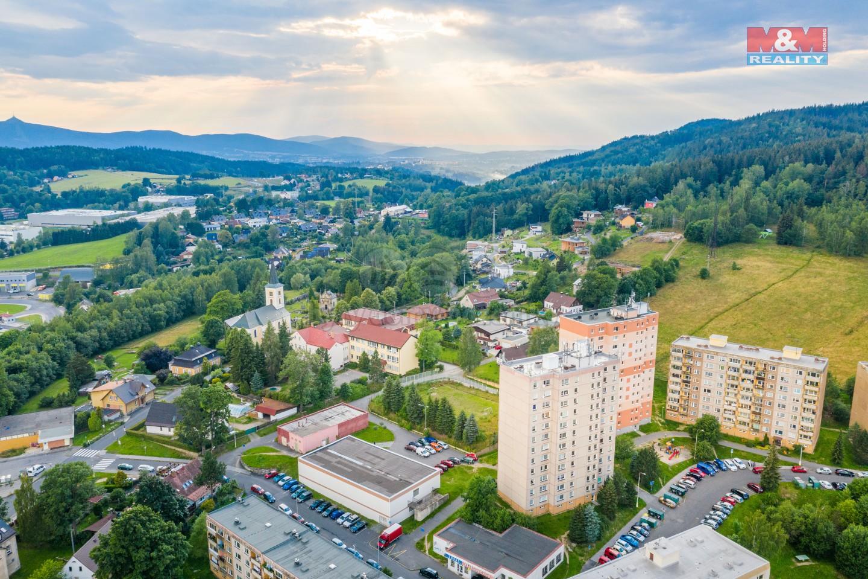 Prodej bytu 1+1, 37 m2, OV, Jablonec nad Nisou, ul. Na Úbočí