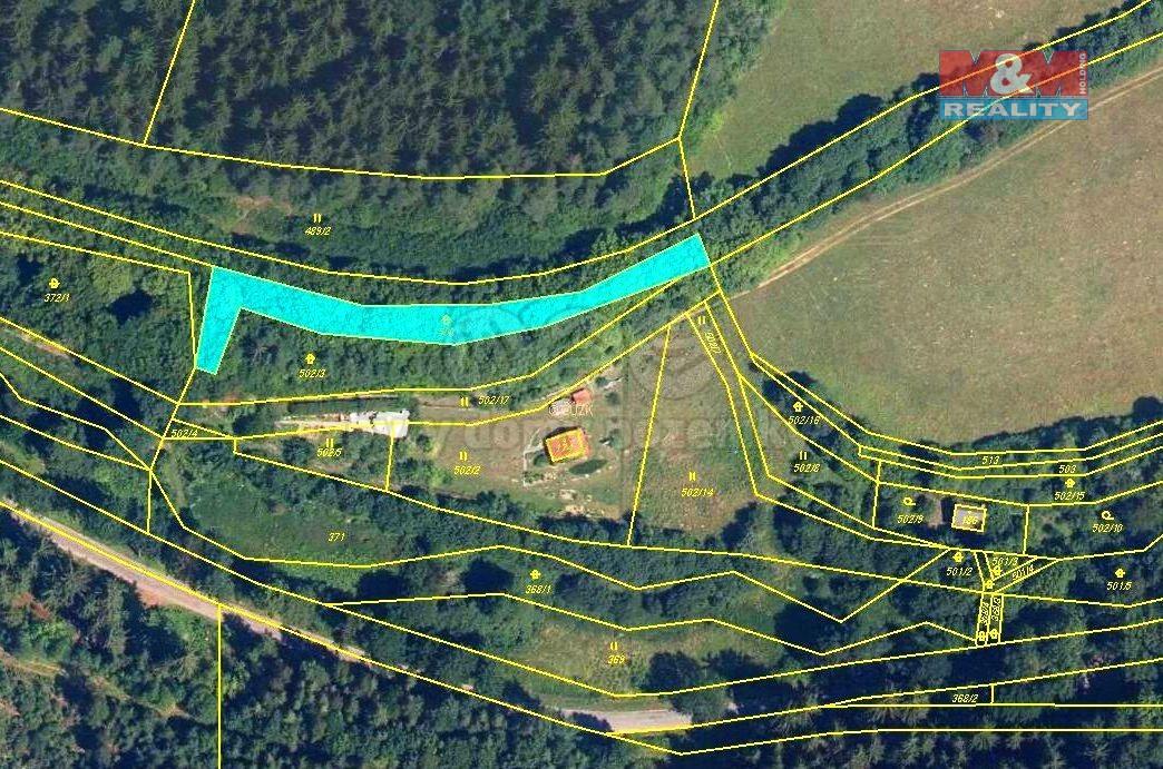 Prodej louky, 967 m², Chrastavec