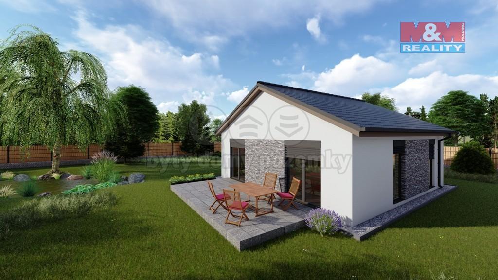 Prodej, rodinný dům, 3+kk, 69 m2, Nový Čestín, Mochtín
