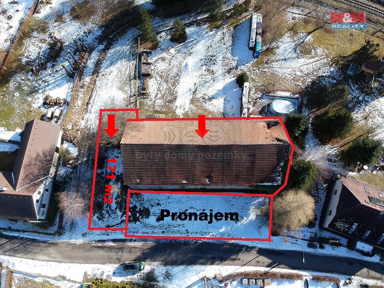Prodej zemědělského objektu, 548 m², Nová Bystřice, Albeř