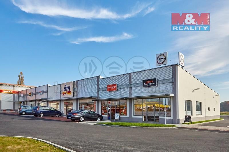 Pronájem, obchod a služby, 129 m², Hrdějovice, ul. Na Bahnech