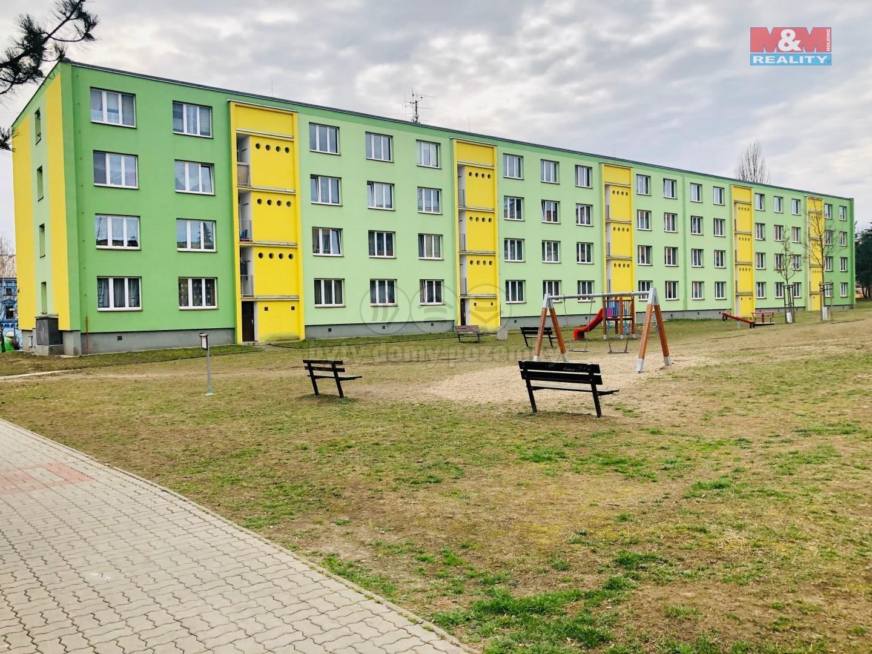 Prodej bytu 1+kk, 20 m², Postoloprty, ul. Třebízského náměstí