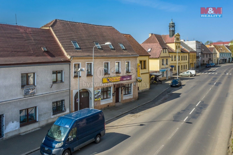 Prodej nájemního domu, 887 m², Chabařovice