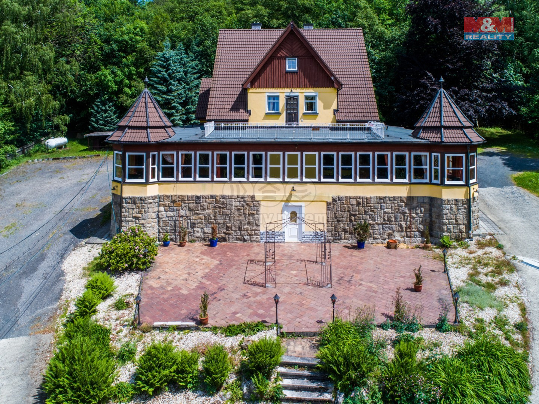 Prodej hotelu, penzionu, 3658 m², Aš, ul. Na Háji