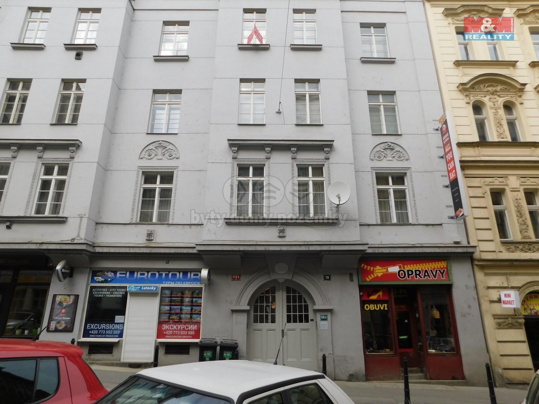 Pronájem, byt 1+1, 40 m², Praha, ul. Krakovská