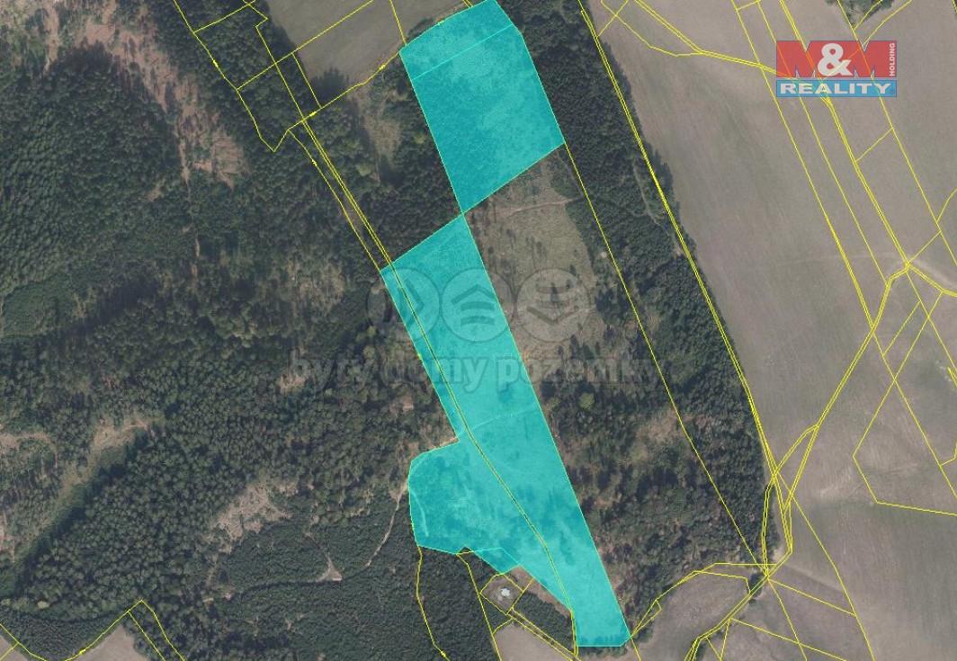 Prodej lesa, 76415 m², Brníčko