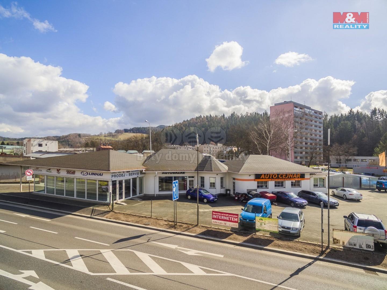 Prodej obchod a služby, 1402 m², Náchod, ul. Běloveská