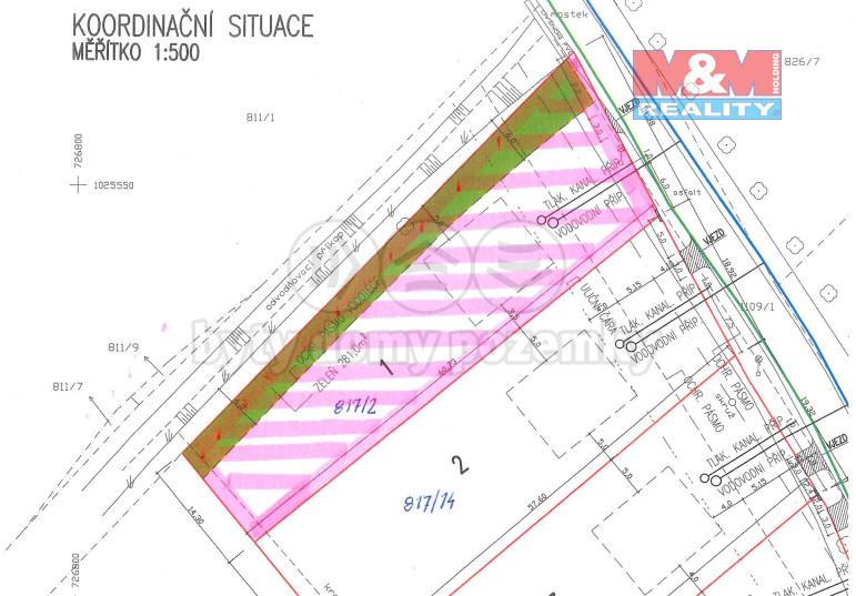 Prodej pozemku k bydlení, 1095 m², Nedomice