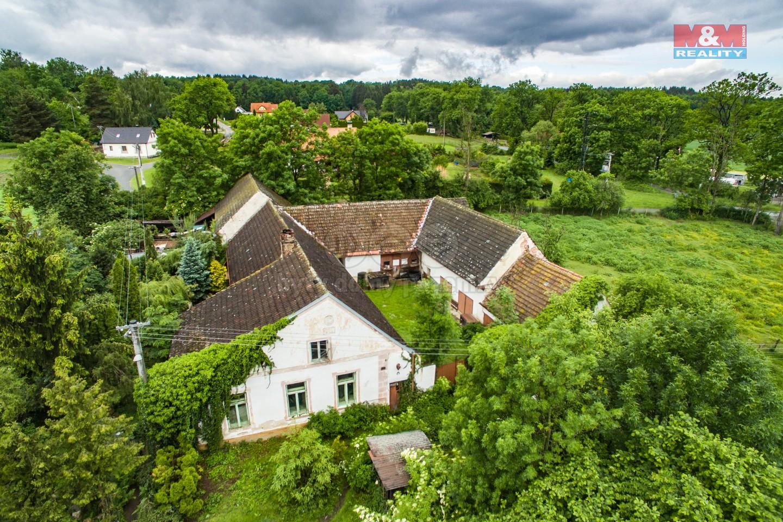 Prodej zemědělské usedlosti, 85200 m², Hracholusky - Obora