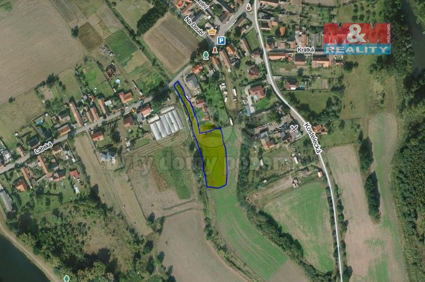 Prodej, rozestavěný rodinný dům 2x 4+kk, 240 m², Tišice.