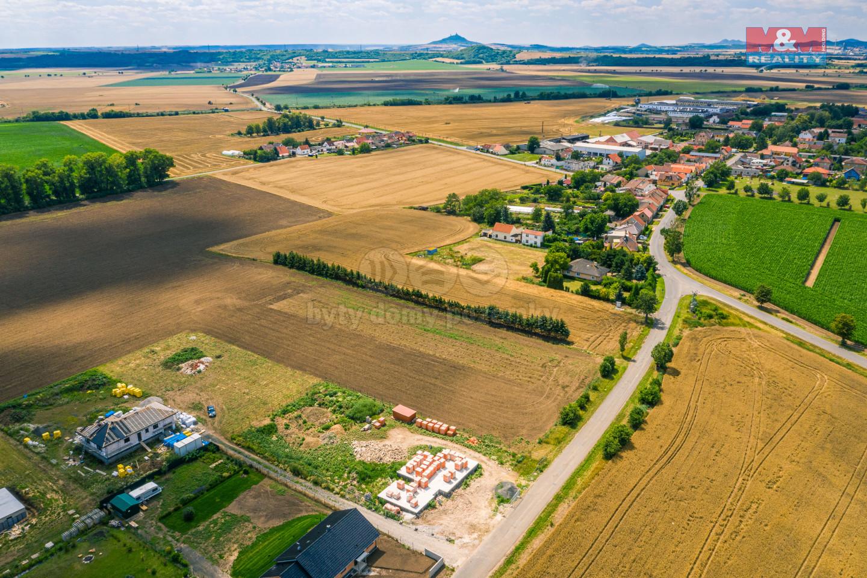 Prodej pozemku k bydlení, 2233 m², Nové Kopisty,Terezín