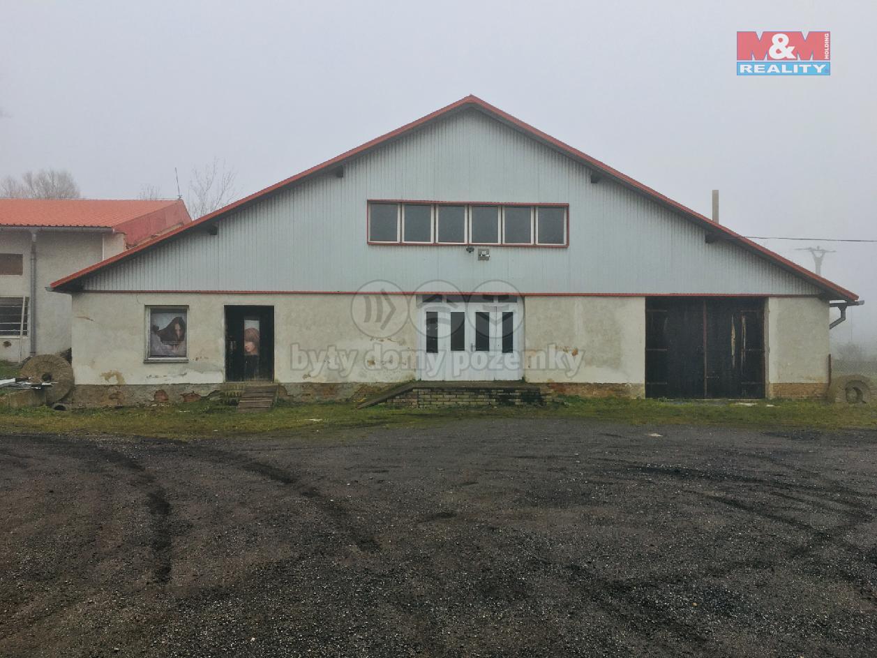 Pronájem výrobního objektu v Krupé u Rakovníka, 415 m2.