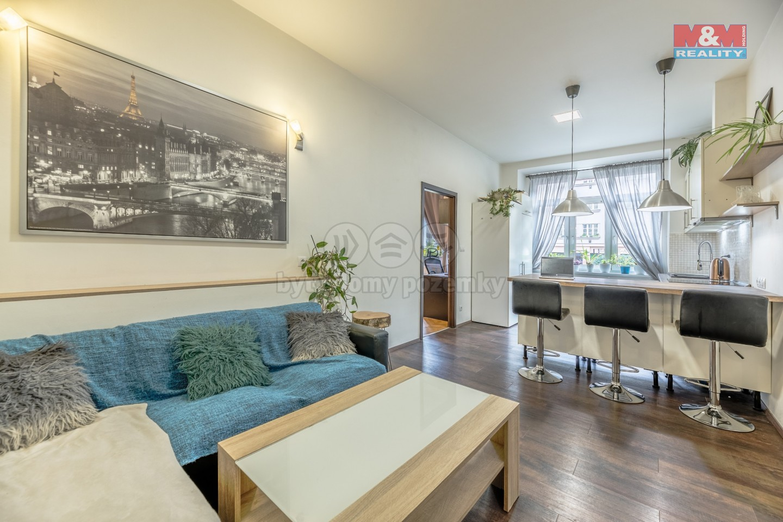Prodej, byt 2+kk, 72 m2, Praha 4 - Nusle