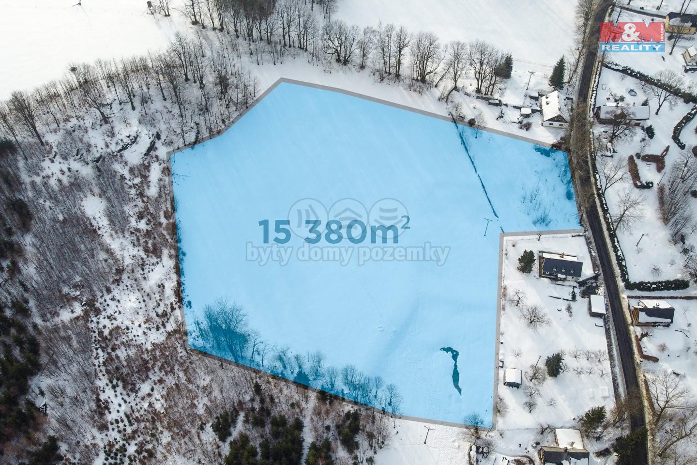 Prodej pozemku k bydlení, 15380 m², Horní Světlá