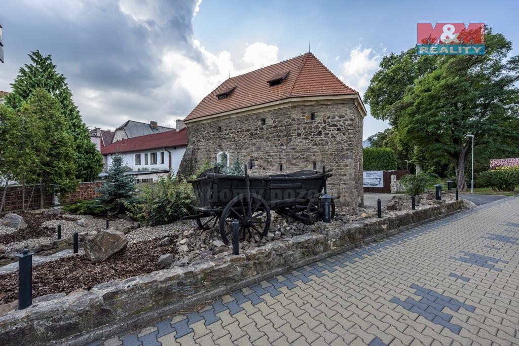 Pronájem historického objektu, 125 m², Bílina, ul. Komenského