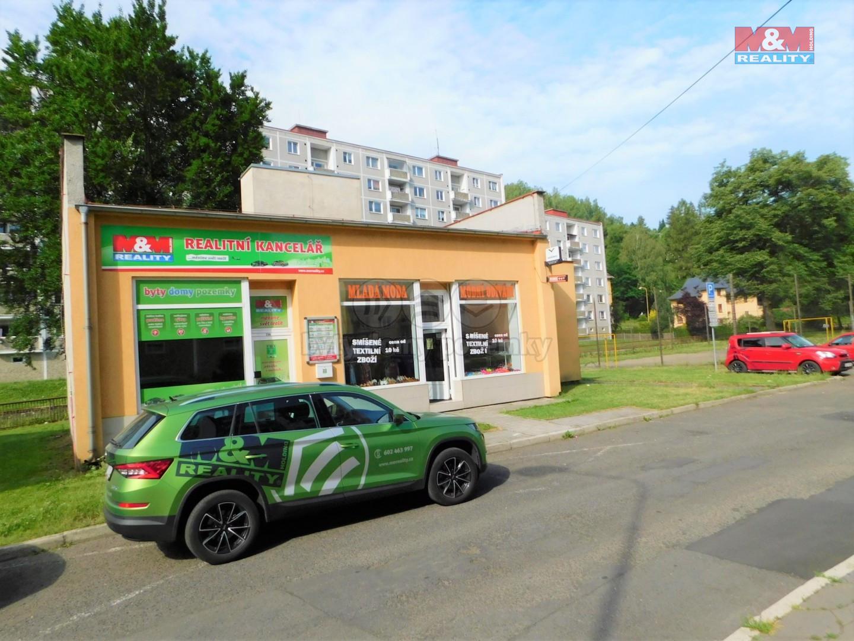 Pronájem obchodu, 105 m², Kraslice, ul. Svatopluka Čecha
