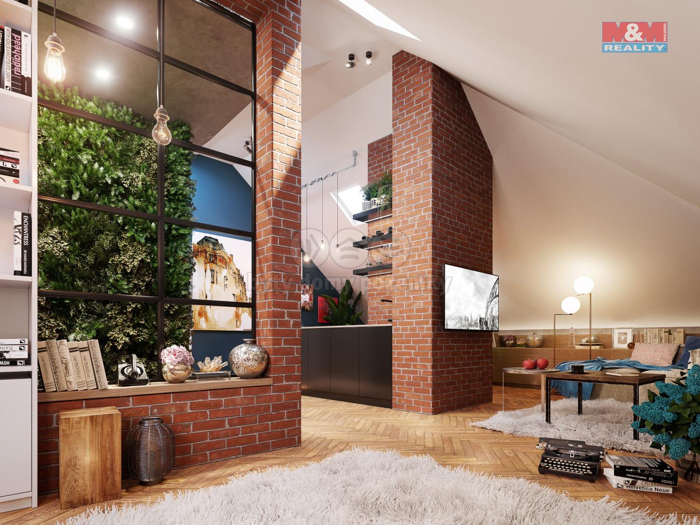 Prodej bytu 2+kk, 43 m², Praha - Vinohrady