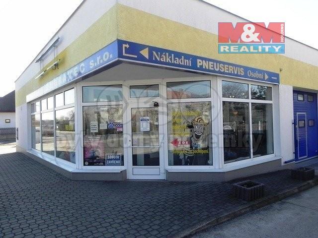 Prodej obchodního objektu, 1485 m², Chlumec nad Cidlinou