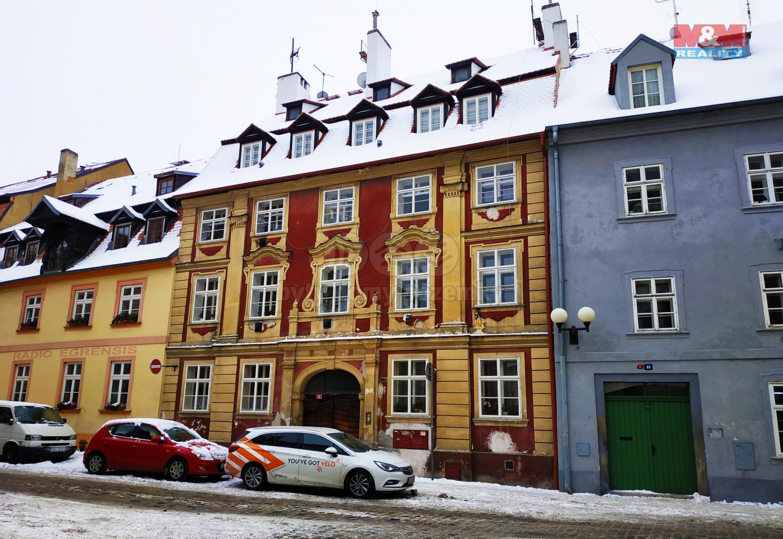 pronájem bytu 1+1, 50 m2, OV, Cheb, ul. Dlouhá