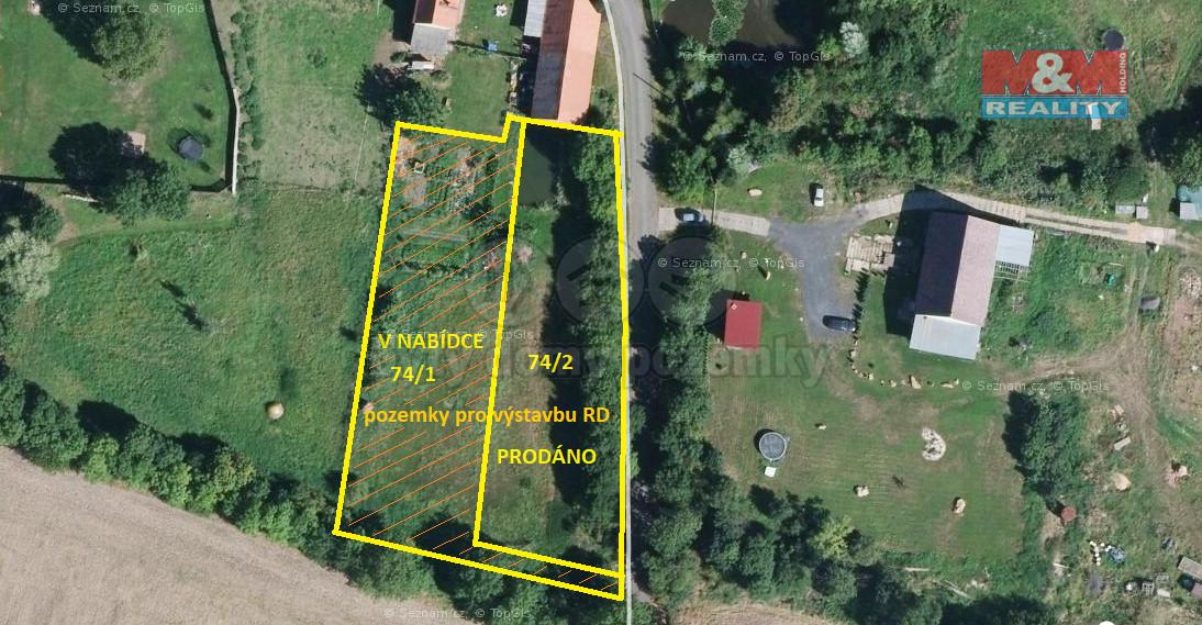 Prodej pozemku k bydlení, 1468 m², Libčeves