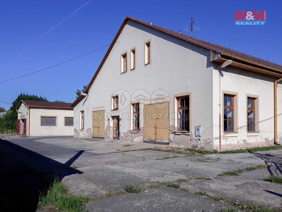 Prodej obchodního objektu, 9209 m², Terezín, ul. Pražská