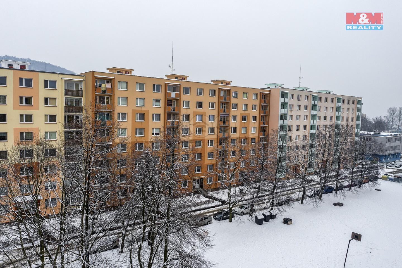 Pronájem bytu 2+1, 59 m², Ústí nad Labem, ul. Šípková