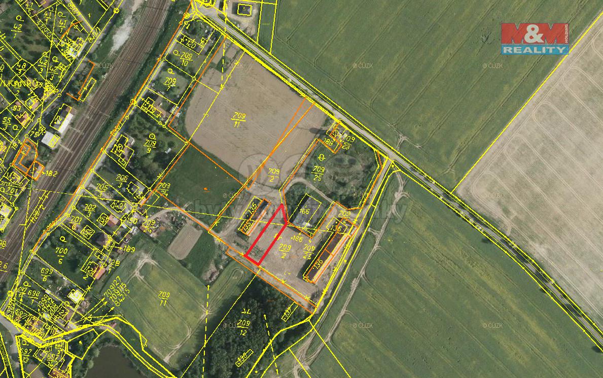 Prodej komerčního pozemku, 1391 m2, Vlkaneč