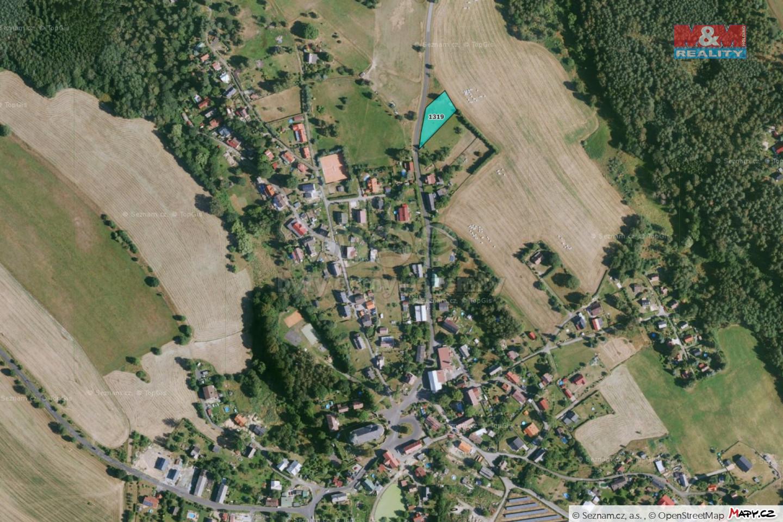 Prodej louky, 1568 m², Arnoltice