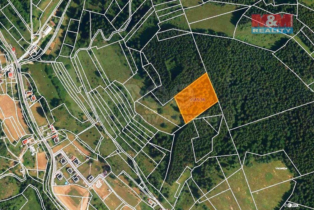 Prodej lesa, 6816 m², Halenkov