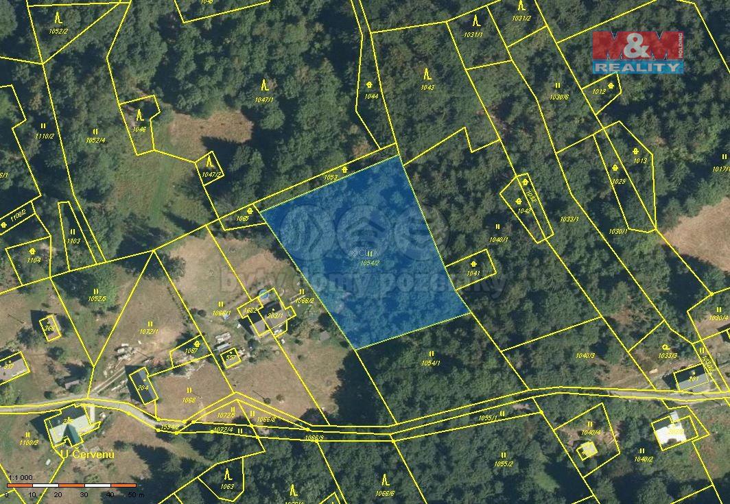 Prodej pozemku, 3303 m², Paseky nad Jizerou