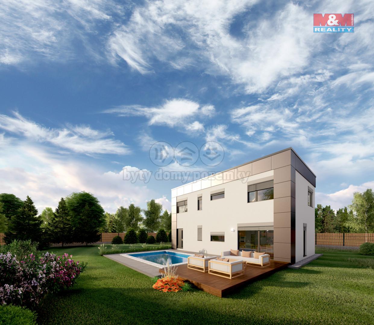 Prodej rodinného domu 5+kk s pozemkem 6300 m2, Statenice