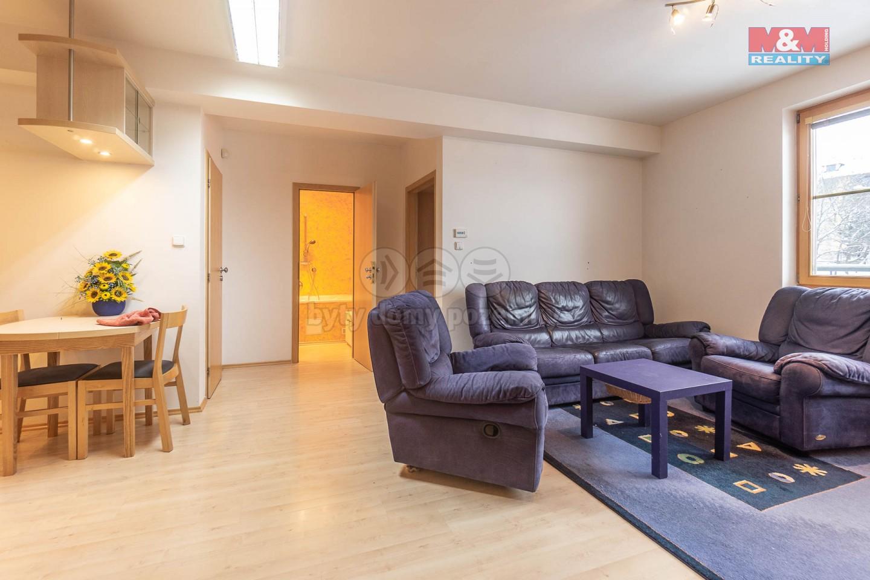 Prodej bytu 2+kk, 50 m2 + 15 m2 terasa, Praha 6 - Břevnov