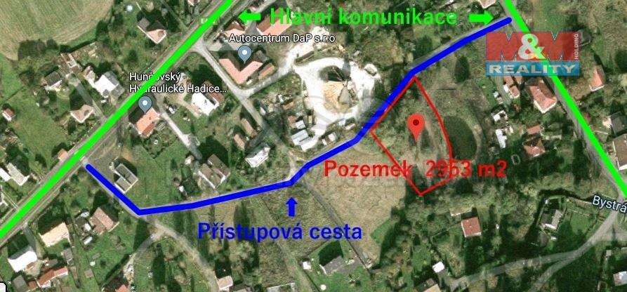 Prodej pozemku k bydlení, 2500 m², Veselé