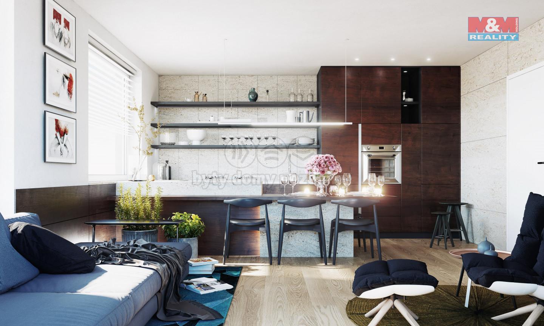 Prodej bytu 2+kk, 52 m², Praha 9 - Hloubětín