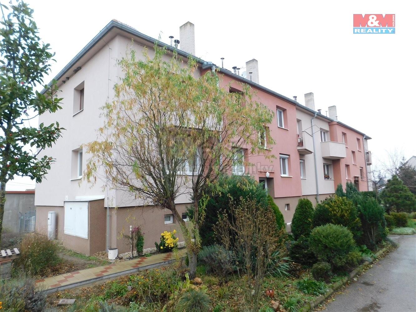 Prodej bytu 2+kk se zahradou, OV, 66 m2, v Přibicích