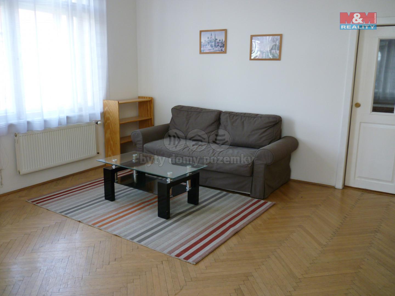 Pronájem bytu 3+1, 120 m2, Vinohradská, Praha 2