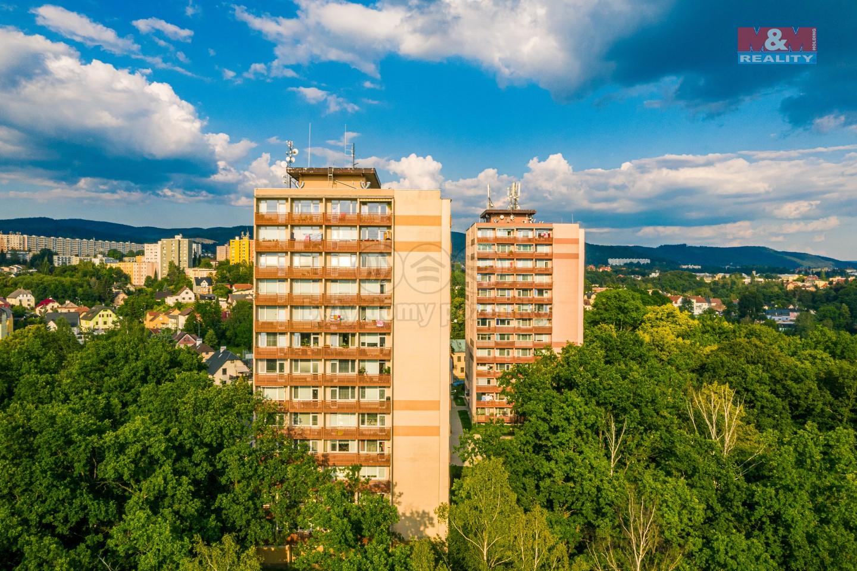 Pronájem, byt 1+kk, Liberec, ul. Libušina