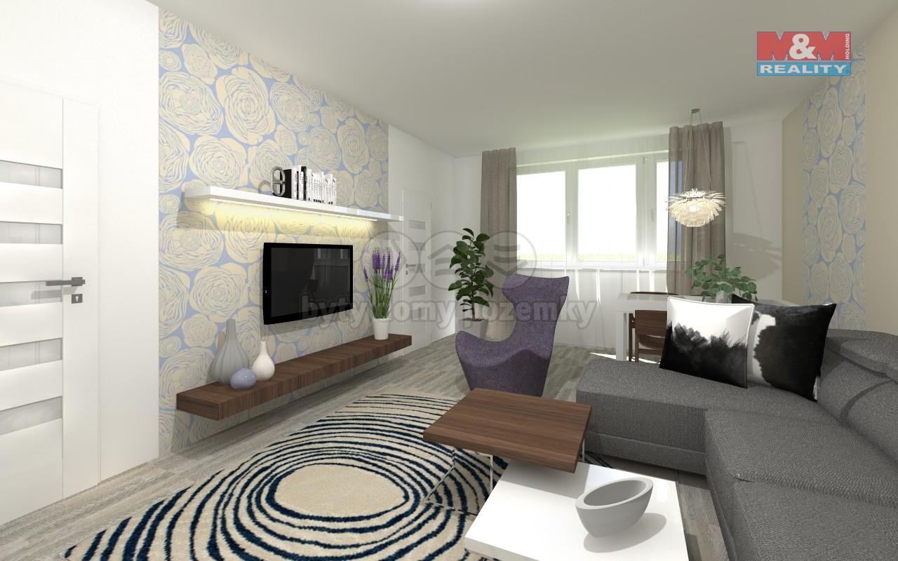 Prodej bytu 1+kk, 62 m2, Šumperk